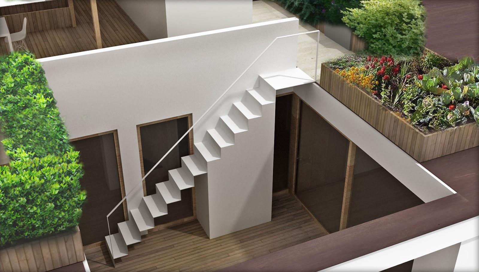 Emejing Terrazza A Tasca Contemporary - Idee Arredamento Casa ...