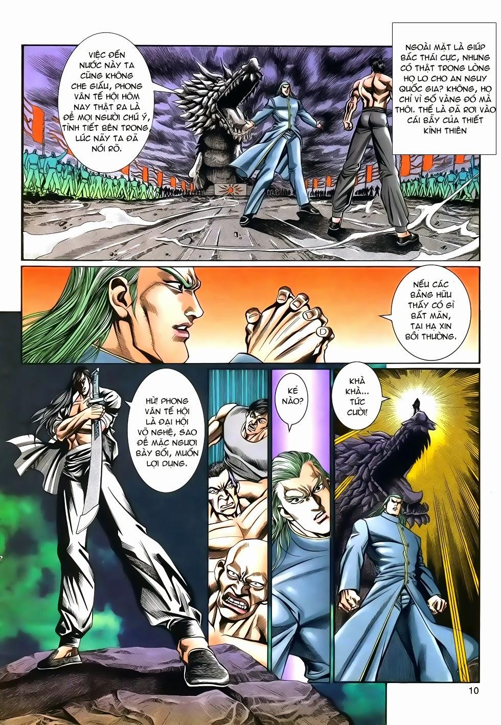 Long Hổ Phong Bạo chap 9 - Trang 10