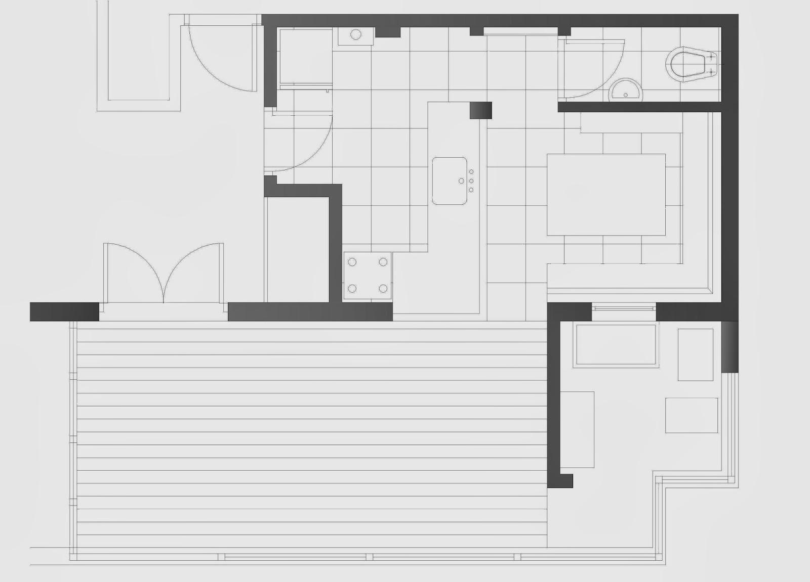 Arquitectura a tu medida.: Remodelacion de un departamento