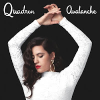 Cover image of Quadron's second album, Avalanche.