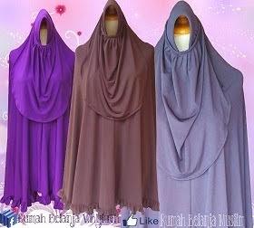 Jilbab Jersey Super