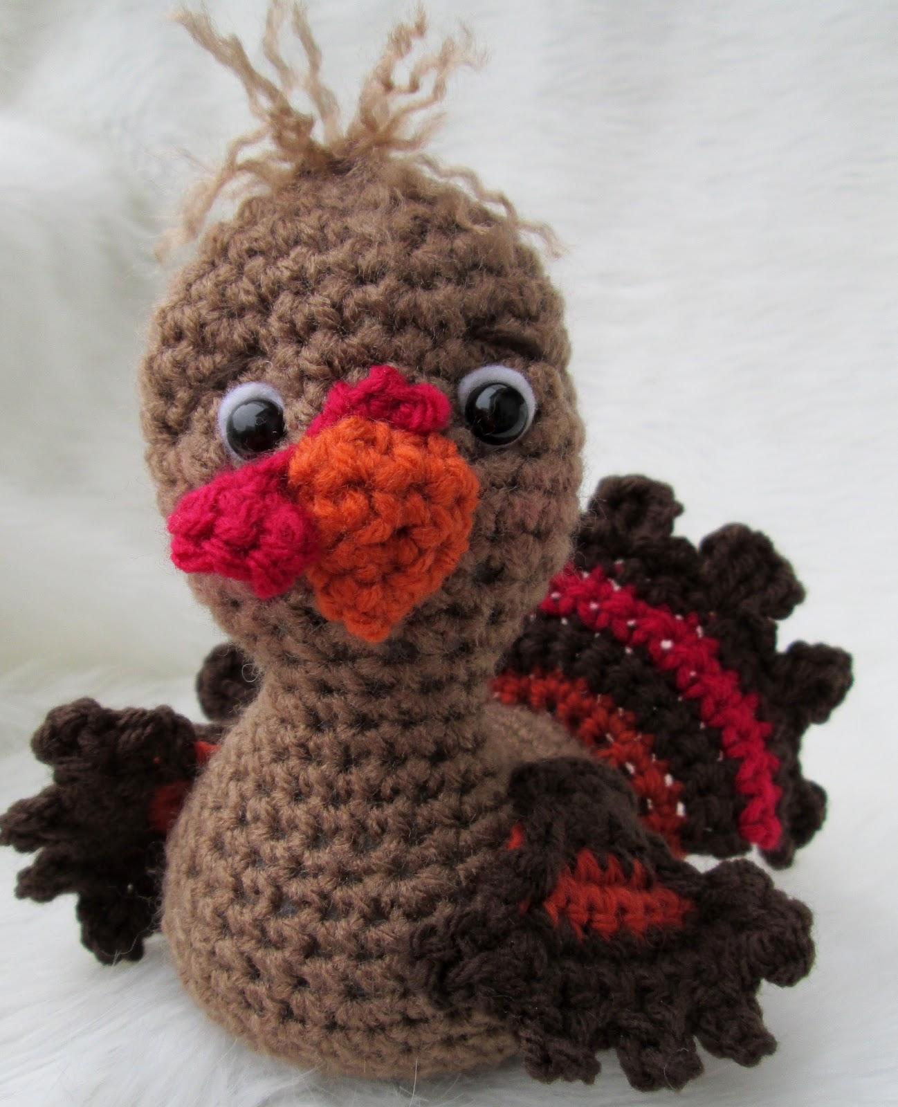 Amigurumi Yarn Size : Teris Blog: Free Cute Turkey Crochet Pattern