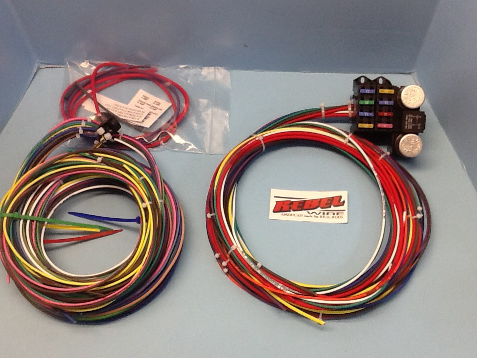 rebel wire new underseat t wiring harness