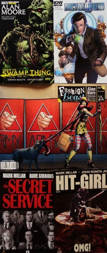October comics / Cómics de octubre