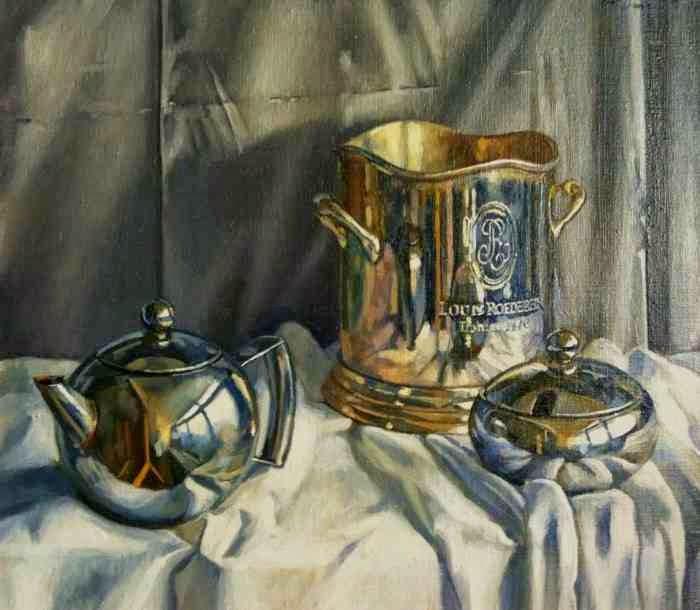 Современный британский художник. Noel Bensted