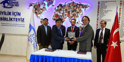 Kimse Yok Mu, Philippines sign agreement to further aid cooperation