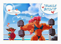 MUSCULAR WOMEN FANTASIES!