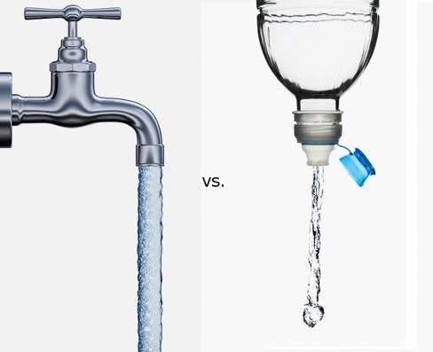 bottled water vs tap Recent reports of drugs in our drinking water might have some people heading for the bottled water aisle of their nearest grocery store, but in most parts.