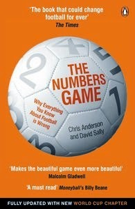 Books in my collection: The Numbers Game by Chris Anderson and David Sally