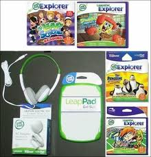 leapfrog leappad explorer game system green