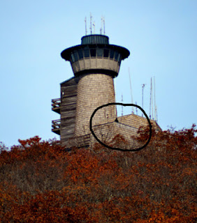 Shadow man of Brasstown Bald North Georgia