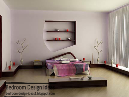 simple master bedroom design ideas with wooden decorations