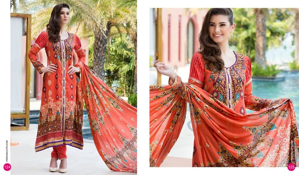 Firdous best summer lawn collection 2015