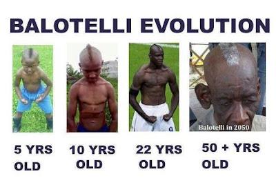 Evolusi Lucu Seorang Balotelli
