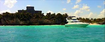 Sea Ray yacht Puerto Aventuras