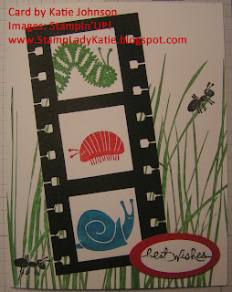 Stamp Sets: Bugs and Wishes & Inspired by Nature, punch=Spiral Punch