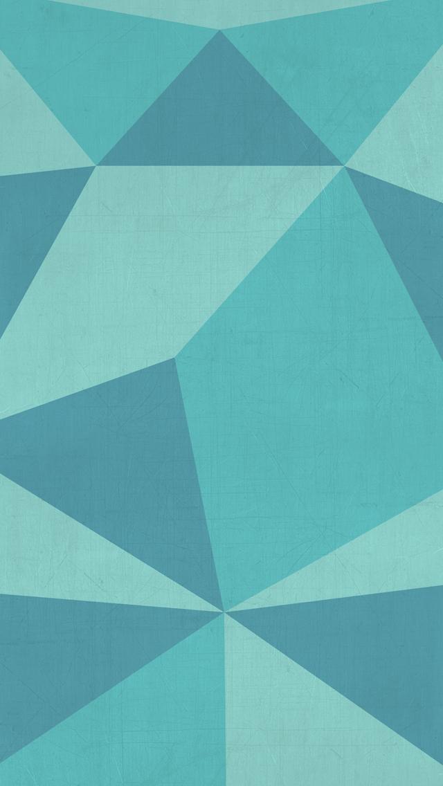 CwThornbrugh: Teal Geometric iphone background