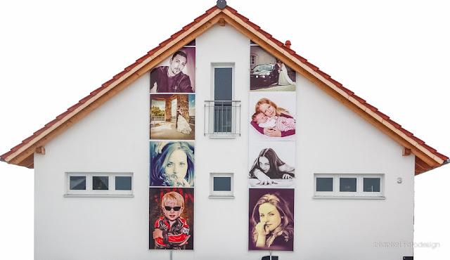Fassade des Fotostudios