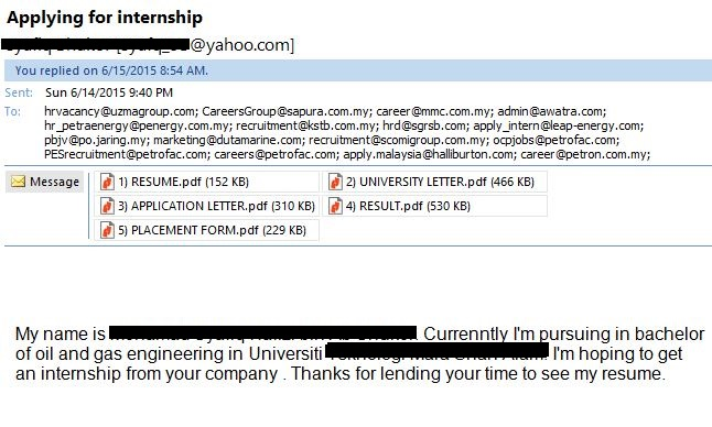 ibnkhayr tips memohon kerja melalui e mail