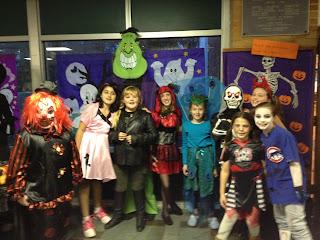 Pine glen elementary school principal 39 s blog halloween for Halloween dance floor ideas