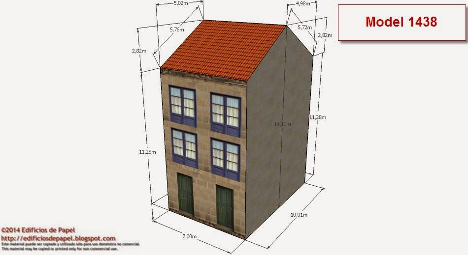 ©2014 Edificios de Papel - Modelos 1438-39: OREdificio Rehabilitado2