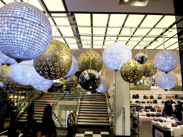 NYC, Champagne, Bloomingdale's