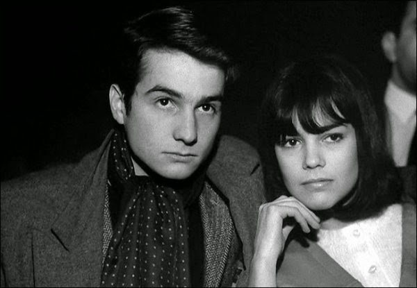 Jean-Pierre Léaud and Chantal Goya in Masculin Feminin