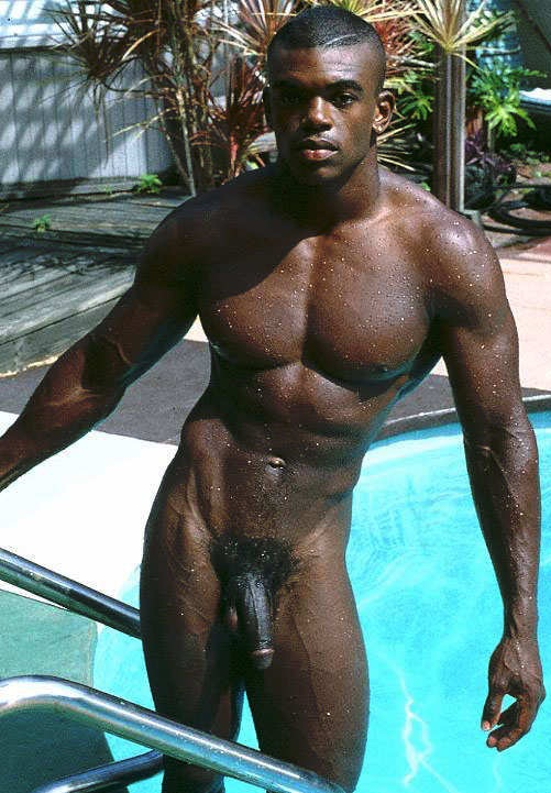 hot nude black male models