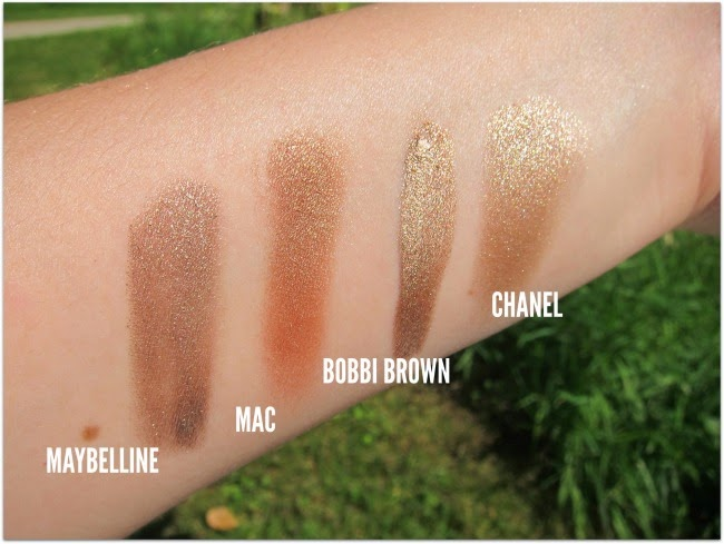 Best Bronze Eyeshadow Swatches