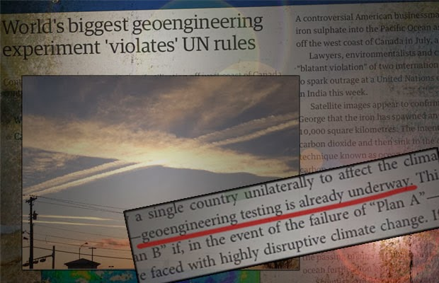 Watch This! Then Try to Deny Chemtrails