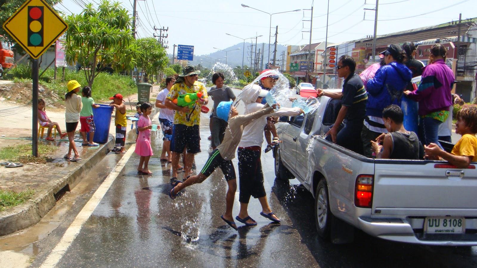 Thailand New Year Day - Songkran Day