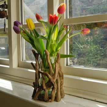 wazon z konarów