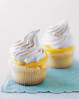 Healthy Lemon Meringue Cupcakes | Healthy Bake Lemon Cupcakes