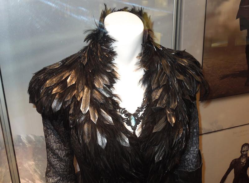 Hansel Gretel Witch Muriel costume collar detail