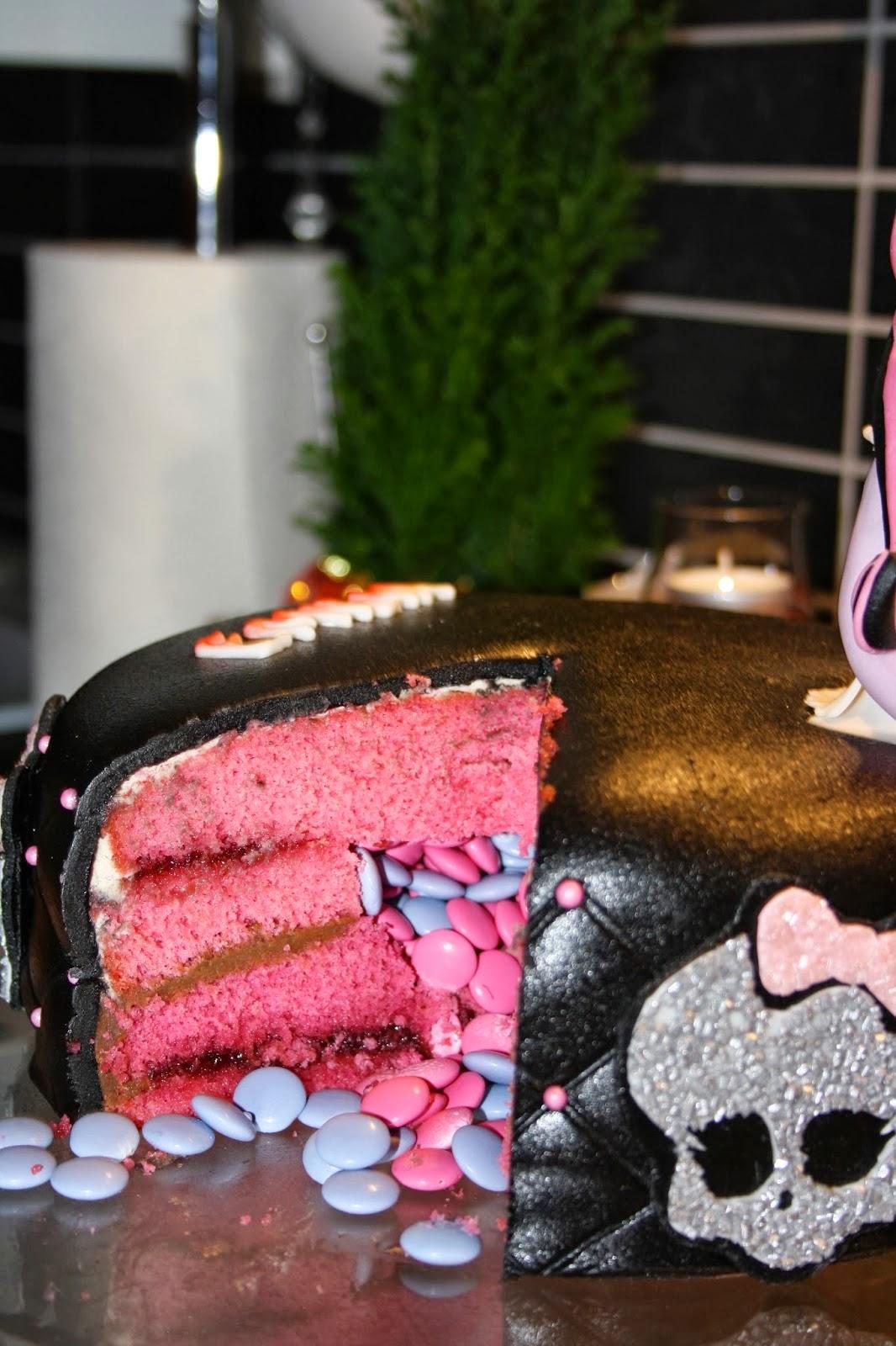 Tårta med överraskning