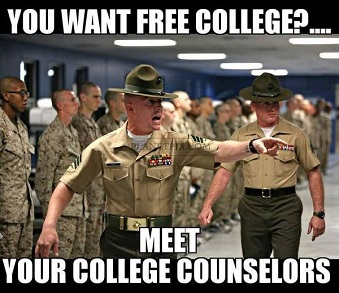 Free College for Bernie Supporters!