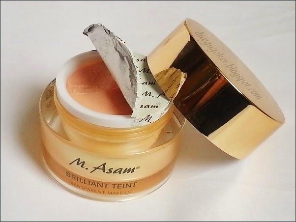 M.Asam Brillant Teint Transparent Make Up (Canlı Gösteren Makyaj Bazı)