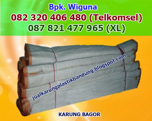 Supplier Karung Bagor, Pabrik Karung Bagor di Bandung, Supplier Karung Plastik