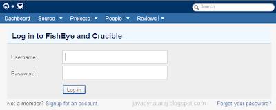 How to Create a Review using FishEye_001_JavabynataraJ