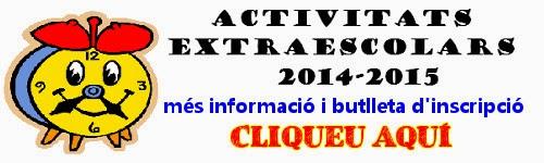 Extraescolars 2014-2015