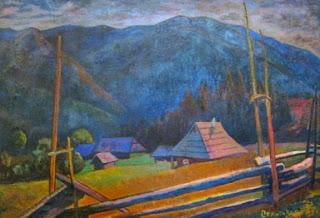 Роман Сельский, Сельский пейзаж, 1961