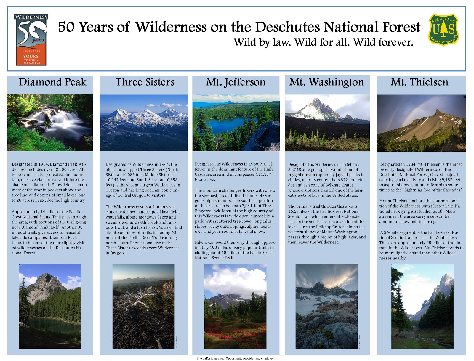 Wilderness on the Deschutes National Forest