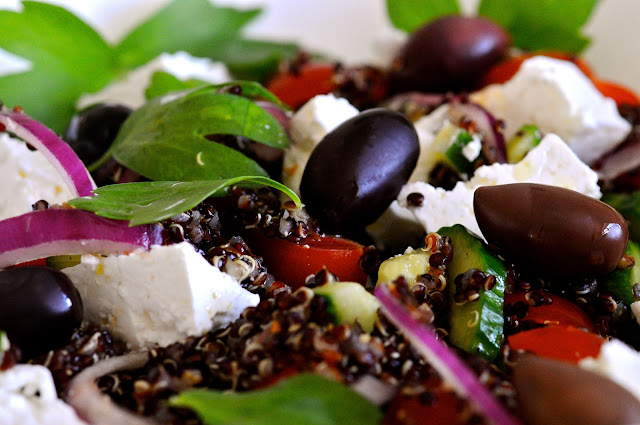 græsk salat af julie karla
