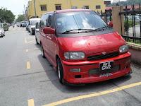 Nissan Serena c23 in Malaysia