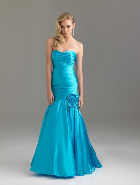 prom mermaid dress