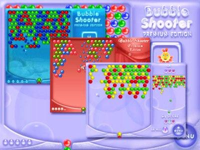 لعبة الكرات الملونة bubble shooter