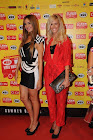 Anna Prelevitc @ Mad Awards with georgina skalidi clutch