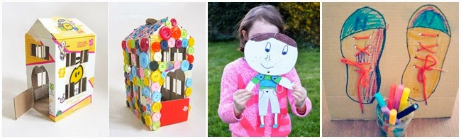 30 Of THE Best Cardboard Box Crafts