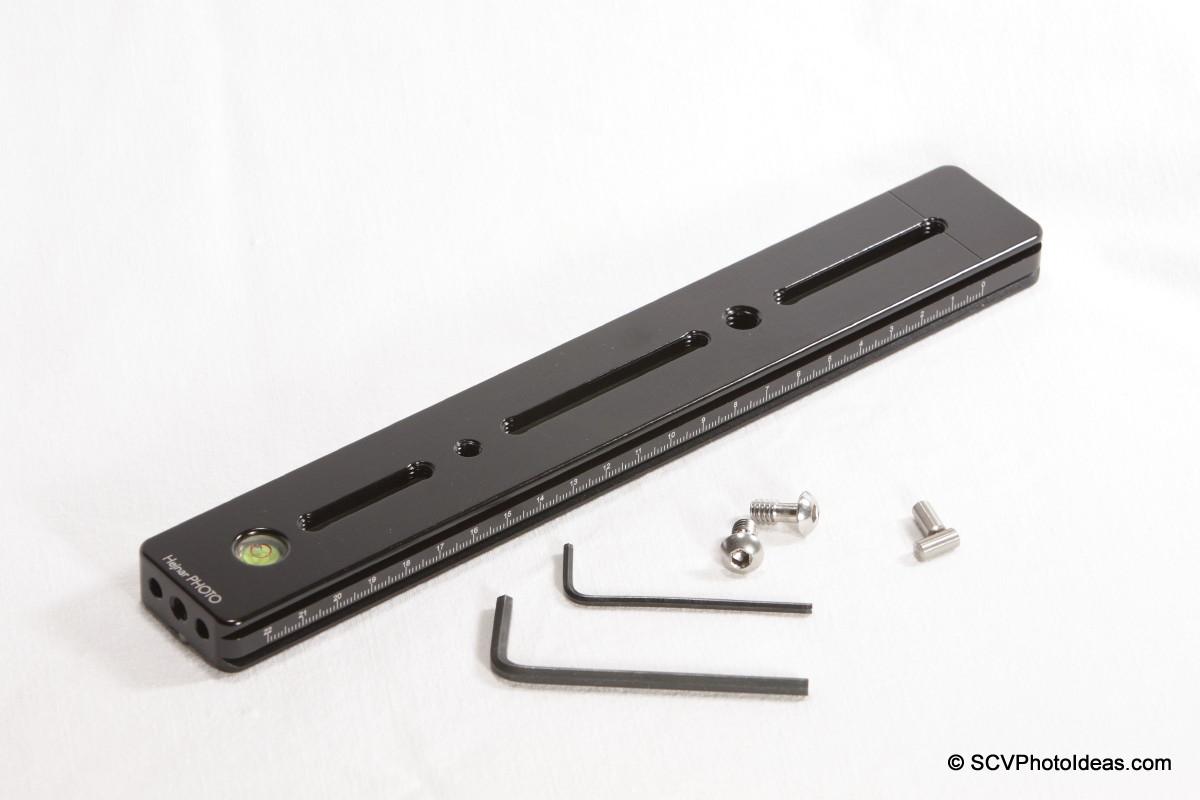Hejnar PHOTO G20-10 Rail top + screws + tools