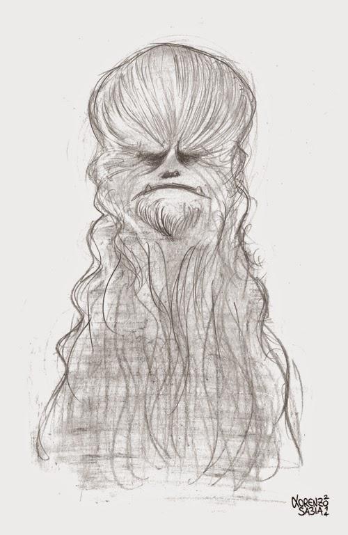 Chewbacca by Lorenzo Sabia